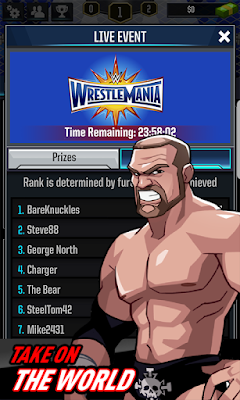 WWE Tap Mania Apk Mod v0.2.6 For Android