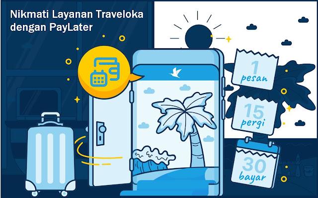 cara apply layanan traveloka paylater