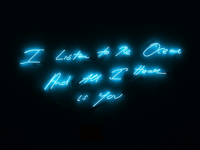 Tracey Emin, I listen to the ocean and all I hear is you, 2011