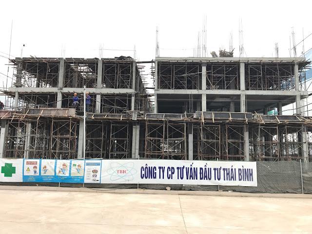 Tiến độ xây dựng liền kề Gelexia Tam Trinh