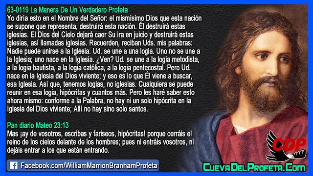 Dios destruirá esta nación - William Branham en Español