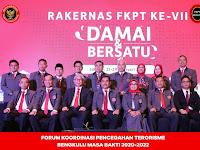 Pelantikan pengurus FKPT Provinsi Bengkulu Periode 2020-2022