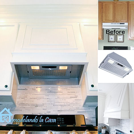kitchen makeover - getting rid of a recirculating for a vent out hood