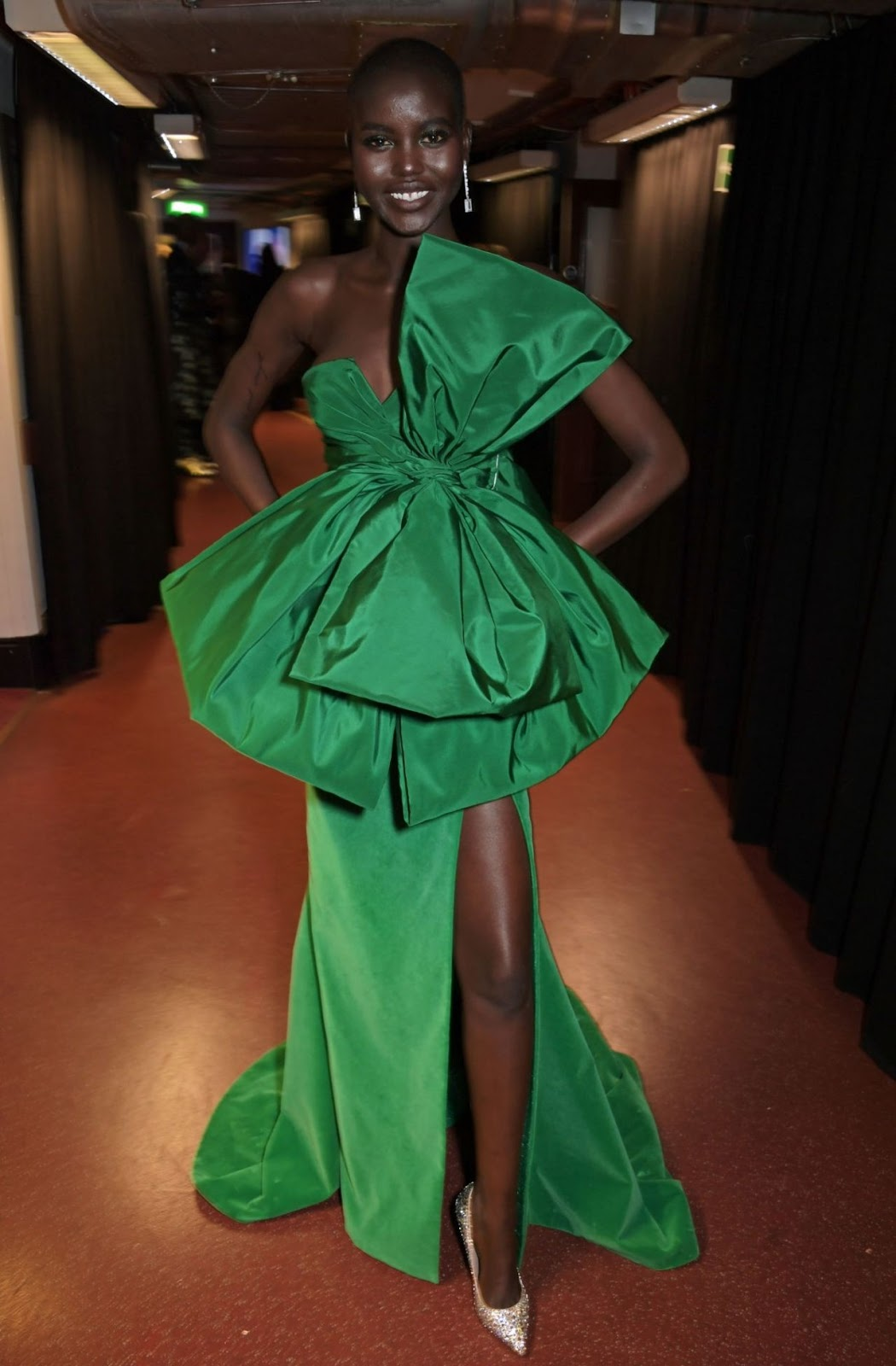 Adut Akech – Fashion Awards 2019 Red Carpet at Royal Albert Hall in London
