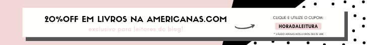 Cupom de Desconto Americanas Livros 20% OFF