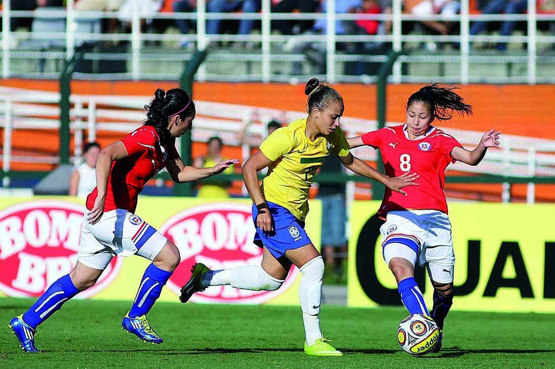 Brasil y Chile en Torneio Internacional Cidade de São Paulo 2011, 11 de diciembre