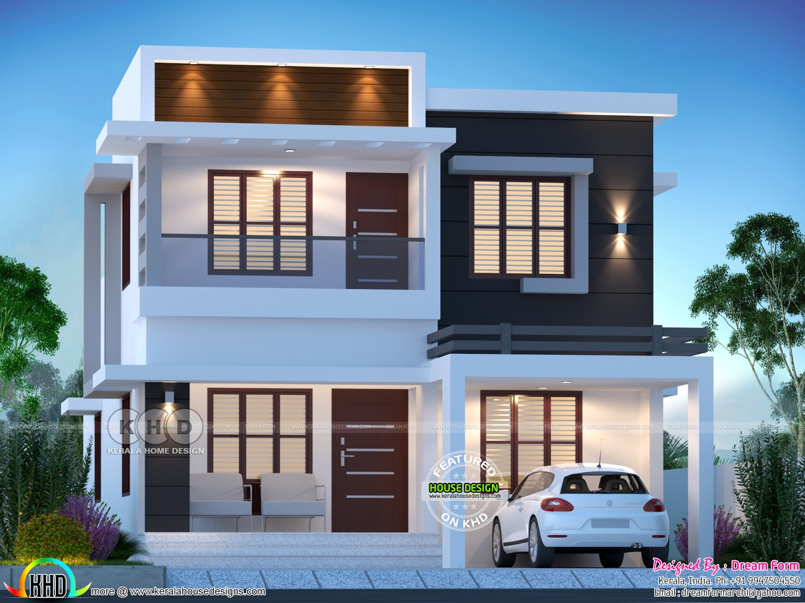 4 bedroom 1775 sq.ft modern home design - Kerala home ...