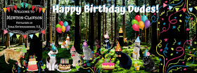 Happy Birthday Dudes Mewton-Clawson Cats The B Team Pawty @BionicBasil®