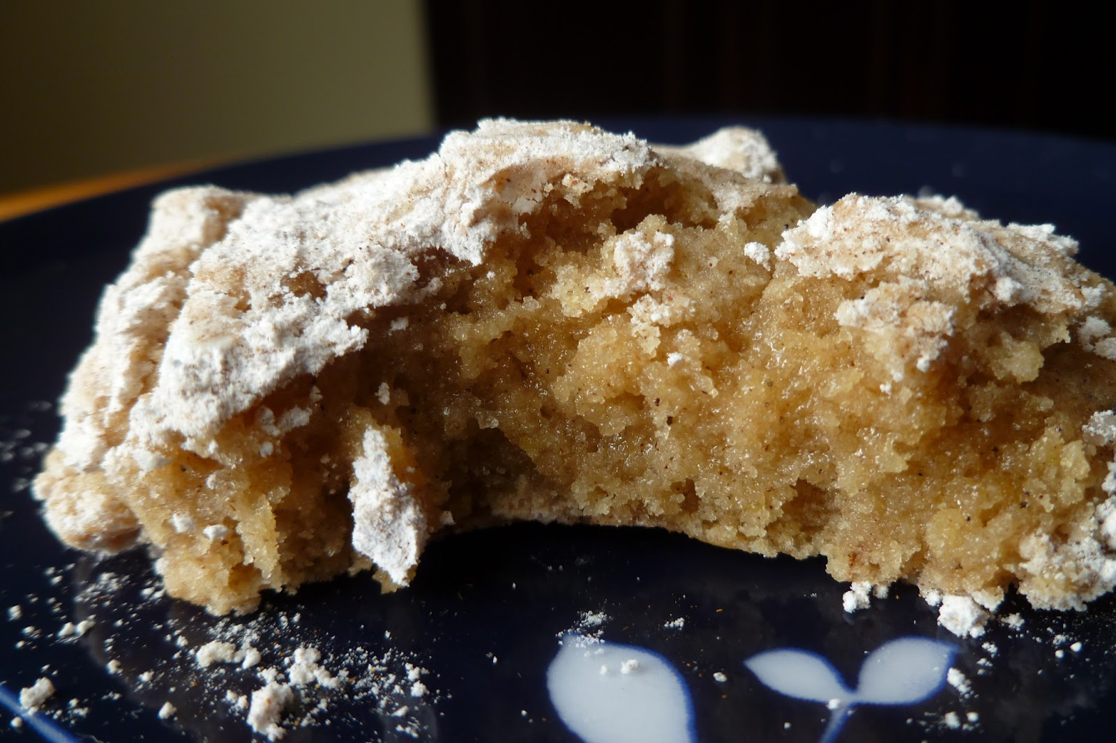 recipe: 1 cup granulated sugar to powdered sugar [25]