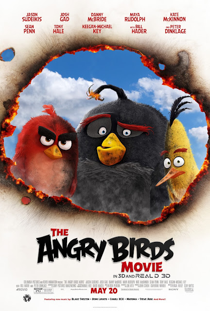 ANGRY BIRDS Coming to Theaters May 20th: Giveaway Ends 5/23  via  www.productreviewmom.com