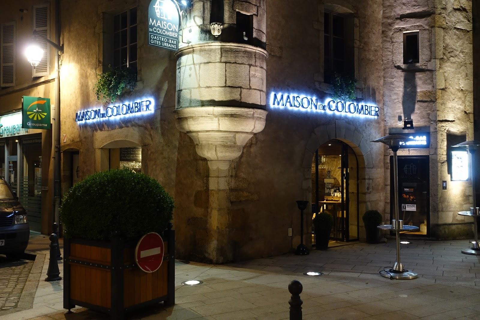 Restaurant Rue Charles Cloutier Beaune