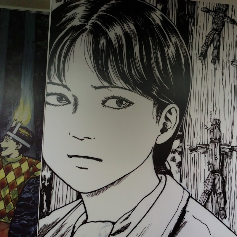 你也喜歡伊藤潤二嗎?