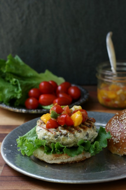 Spiced Lentil Chicken Burgers are Moist and Flavourful.