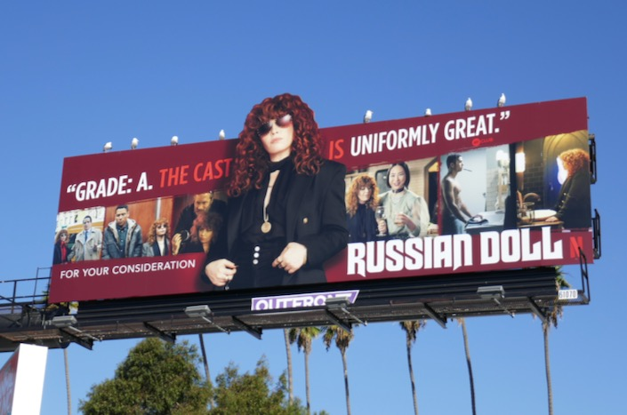 Russian Doll 2019 winter FYC billboard