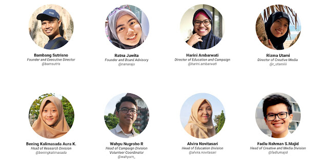 Tim Kerja Teens Go Green Indonesia