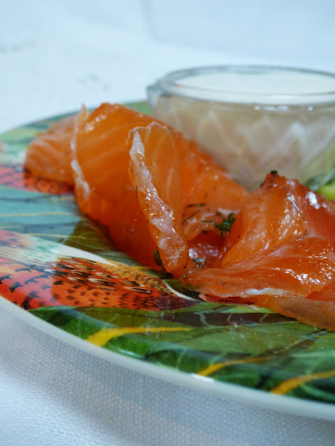 homecured salmon