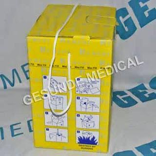 grosir tempat limbah medis safety box