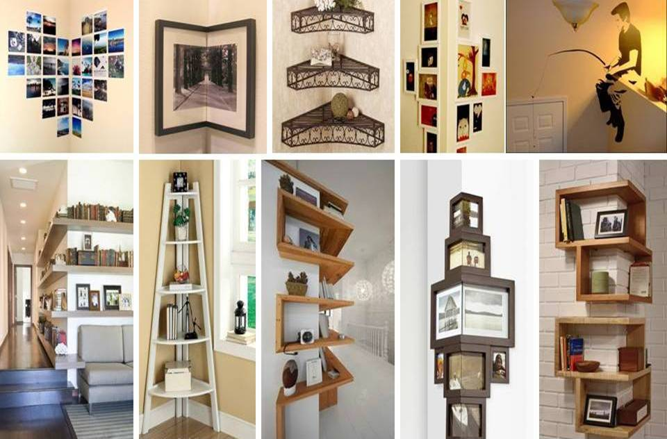 50 BEST CORNER WALL DESIGNS IDEAS - Decor Units
