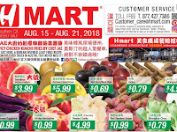 H Mart Weekly Ad August 17 - 23, 2018