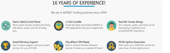 Features,Smarter ASP.NET