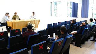 Inaugurações marcam encontro de diretores da UFCG em Cuité