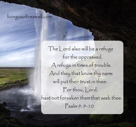 Psalm 9:9,10 KJV