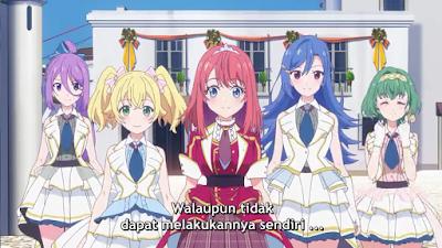 Lapis Re: LiGHTs Episode 12 END Subtitle Indonesia