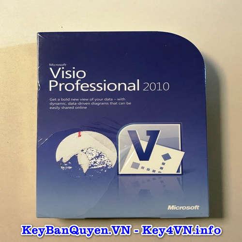 Mua bán key bản quyền Visio Professional 2010 Full 32 và 64 Bit