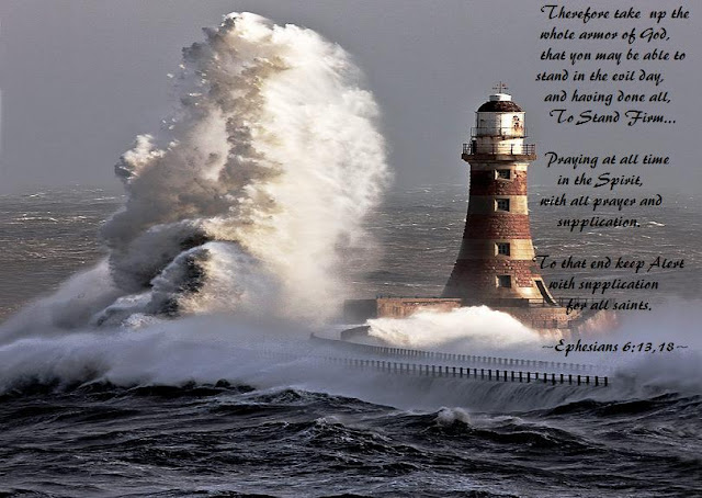 Lighthouse 8 Withstanding The Storm