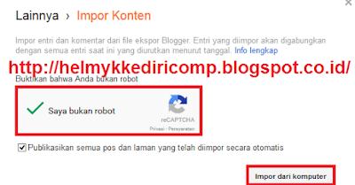 Cara Mengambil Semua Artikel Blog Orang Lain