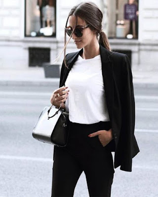 outfit formal minimalista