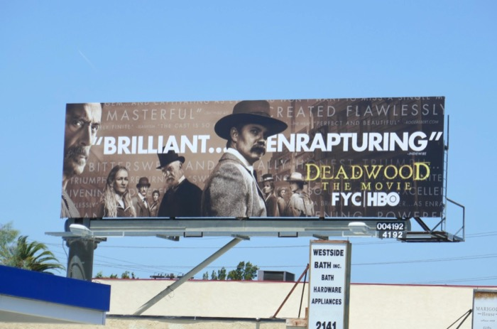 Deadwood Movie Emmy FYC billboard