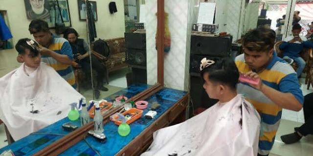 Gibran Percayakan Ubah Gaya Rambut Ke Tukang Cukur Madura