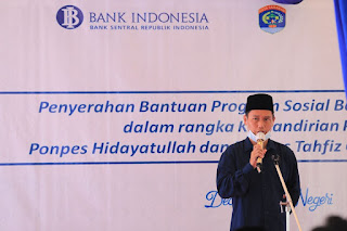 Penyerahan Program Sosial Bank Indonesia (PSBI) Bidang Ekonomi Syariah