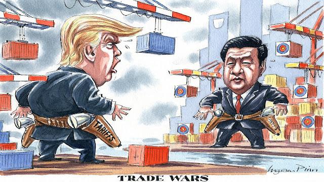 ေမာင္လူေပ - ၿပီးေတာ့မွာ လား trade war