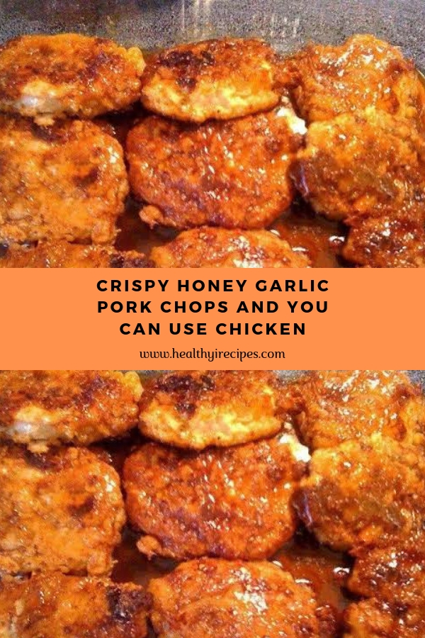 Crispy Honey Garlic Pork Chops And You Can Use Chicken #porkchops #chicken #maincourse