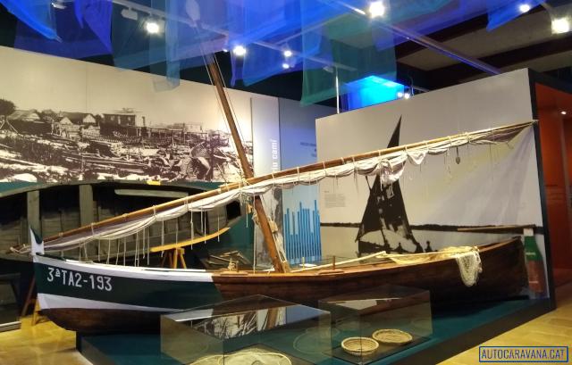 Vaixells exposats al museu