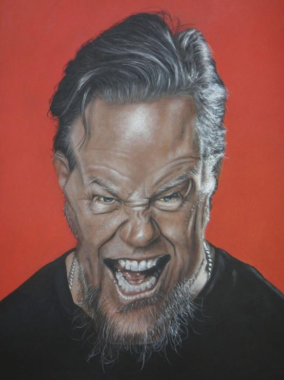 """James Hetfield"" por Christian Stellner"