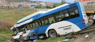 9 جرحى في حادث مروري مروع عى طريق قونيا-أنقرة (فيديو)