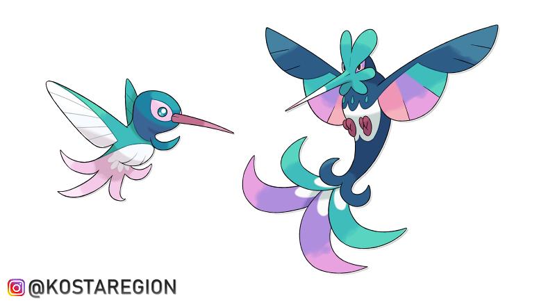 Pokémon Beija Flor