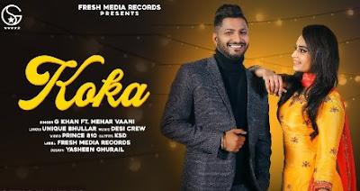 Koka Lyrics - G Khan & Mehar Vaani