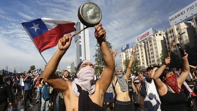 Anuncian marcha en solidaridad con Chile ¡