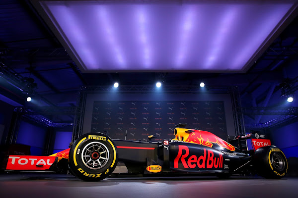 Red Bull F1 2016 livery design