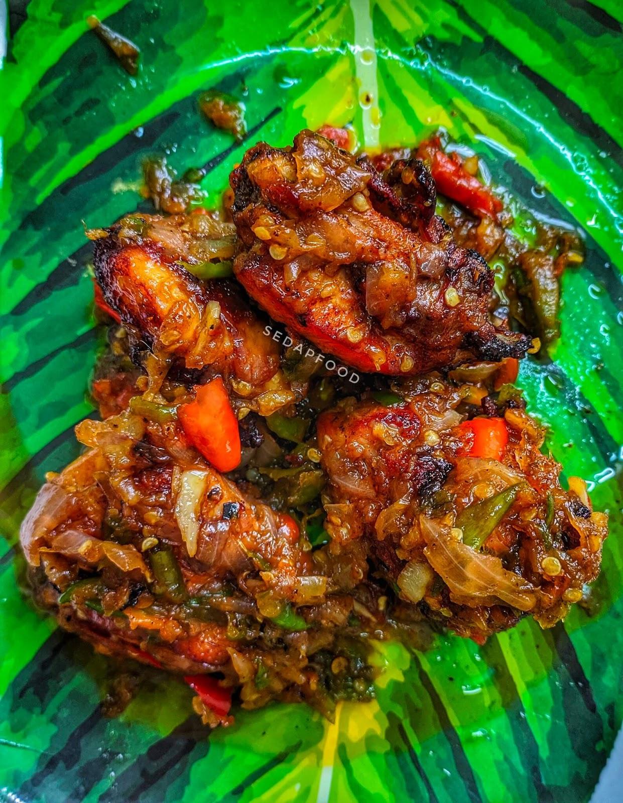ayam sambal berlado belacan
