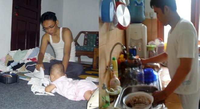 Hasil gambar untuk Pastinya Rumah Tangga Akan Terasa Indah Jika Suami Ikut Membantu Pekerjaan Rumah Sang Istri !