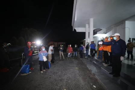 Gugus Tugas Asahan Periksa 17 Pelancong dari Malaysia