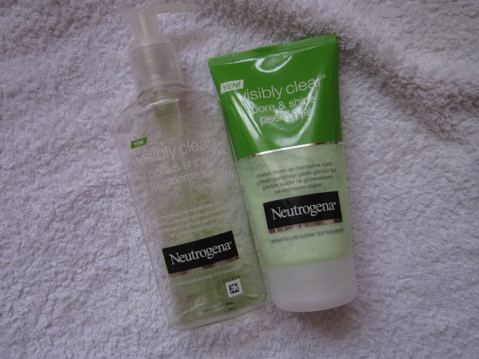 Ürün #80: Neutrogena Visibly Clear Pore &Shine Yüz Temizleme Serisi