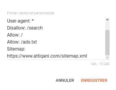كيفية إضافة خريطة موقع من إعدادات Blogger