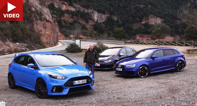 Can Fords Focus RS Beat The Audi RS3 And VW Golf R