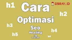 Cara Optimasi Tag Heading Dalam Blog (h1,h2,h3,h4,h5,h6)